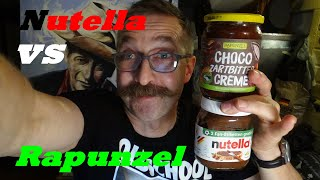 Nutella vs Rapunzel Schokocreme