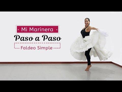 Gisela Gonzales| Faldeo Simple | Mi Marinera Paso a Paso
