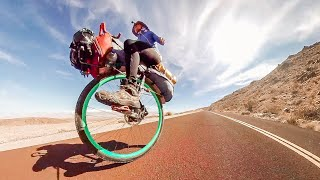 Ed Unicycles the USA Ep.1 AVAILABLE NOW! - Across America By Unicycle!