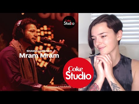Coke Studio Season 12 | Mram Mram | Shamali Afghan | REACTION! | Indi Rossi