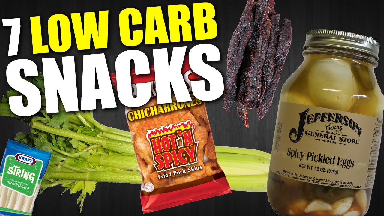 7 quick easy low carb snacks youtube. Black Bedroom Furniture Sets. Home Design Ideas