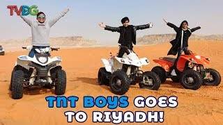 TNT Boys ride an ATV for the first time in Riyadh (EPIC!)