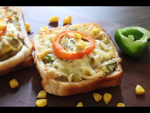 Healthy Open Cheesy  Veg Sandwich Recipe   Super Nutritious Sandwich For Kids   Veg Sandwich Recipe