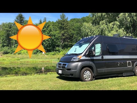 Solar Setup for Living Off-Grid in a Class B Van
