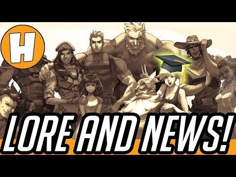 Overwatch News - Lore, Story + World Building Facts! (Jeff Kaplan/Michael Chu Dev Talks)   Hammeh