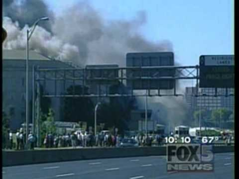 Local Washington DC Affiliate Captures 2nd Powerful Pentagon Explosion On 9/11