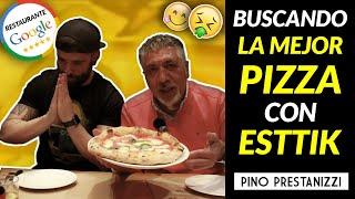 BUSCANDO LA MEJOR PIZZA de BARCELONA con @Esttik (La Balmesina) #3   Pino Prestanizzi