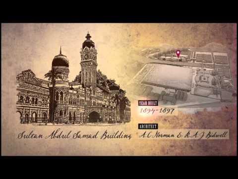 Historical Sites At Merdeka Square (Dataran Merdeka) Kuala Lumpur, Malaysia