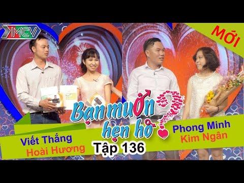 BẠN MUỐN HẸN HÒ - Tập 136   Hoài Hương - Viết Thắng   Phong Minh - Kim Ngân   25/01/2016