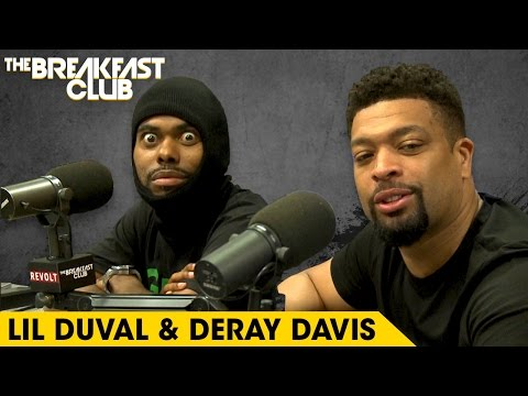 Lil Duval & DeRay Davis Get Wild On The Breakfast Club, Talk