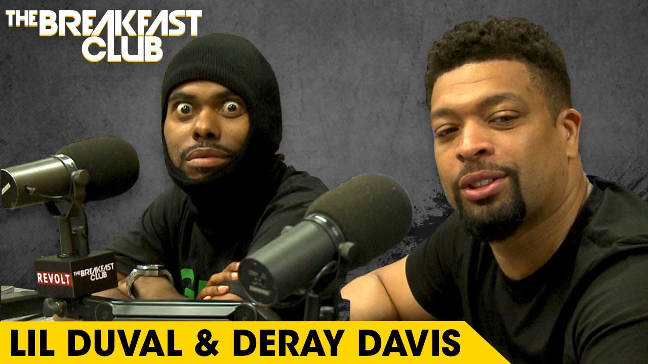 Lil Duval & DeRay Davis Get Wild On The Breakfast Club, Talk 'Grow House' & Clown Angela Yee For Getting Butt Implants