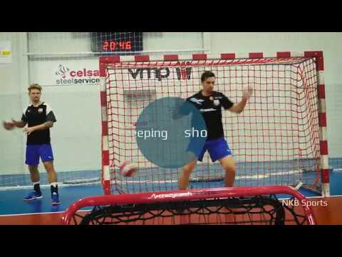 e0eff3e65cc6 Handball Training with Crazy Catch