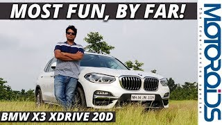 New 2018 BMW X3 In-Depth Review | The Most Fun-to-Drive SUV in Class | Motoroids