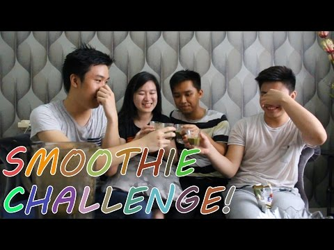 SMOOTHIE CHALLENGE! (with Friends) [INDONESIA]