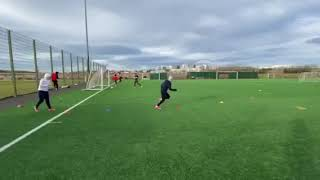 Professional Football Technical Skills 1on1 Session with Dave1on1 in Iceland