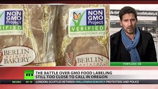 Oregon GMO labeling battle too close to call