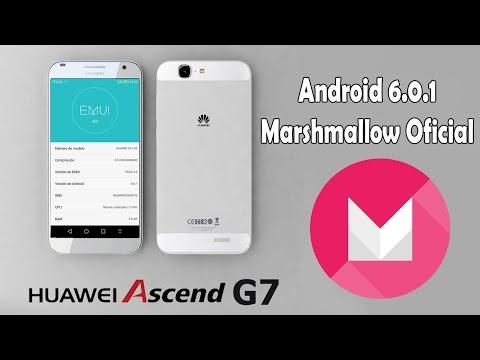 Como Actualizar Huawei Ascend G7 a Marshmallow 6.0.1 Oficial