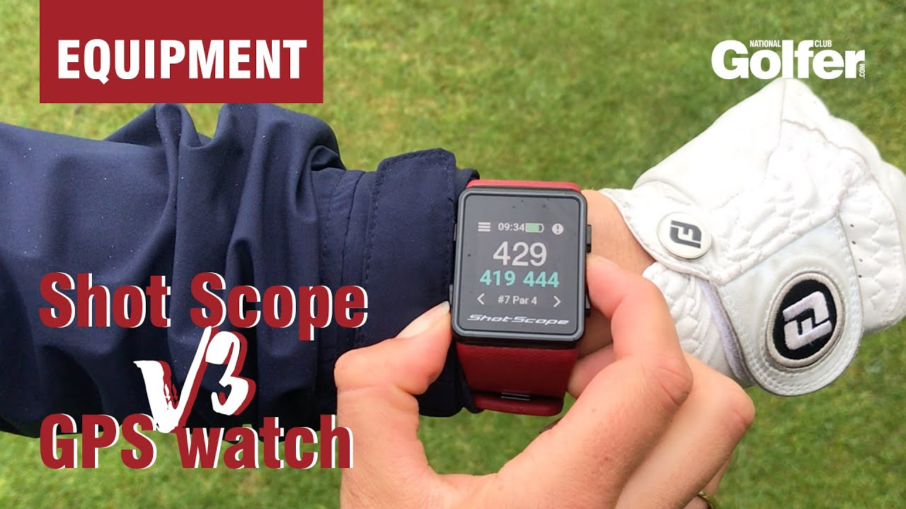 More than just a GPS watch: Shot Scope V3 Review