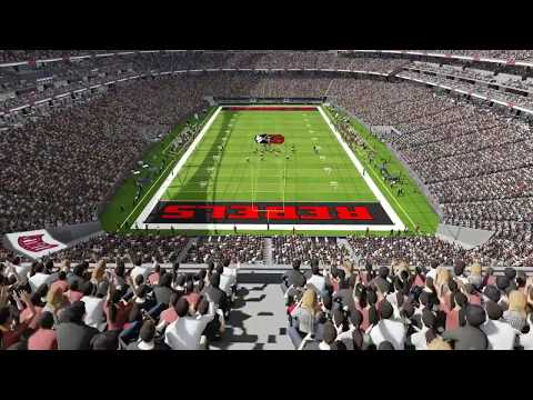 Inside the new NFL stadium in Las Vegas – Raiders
