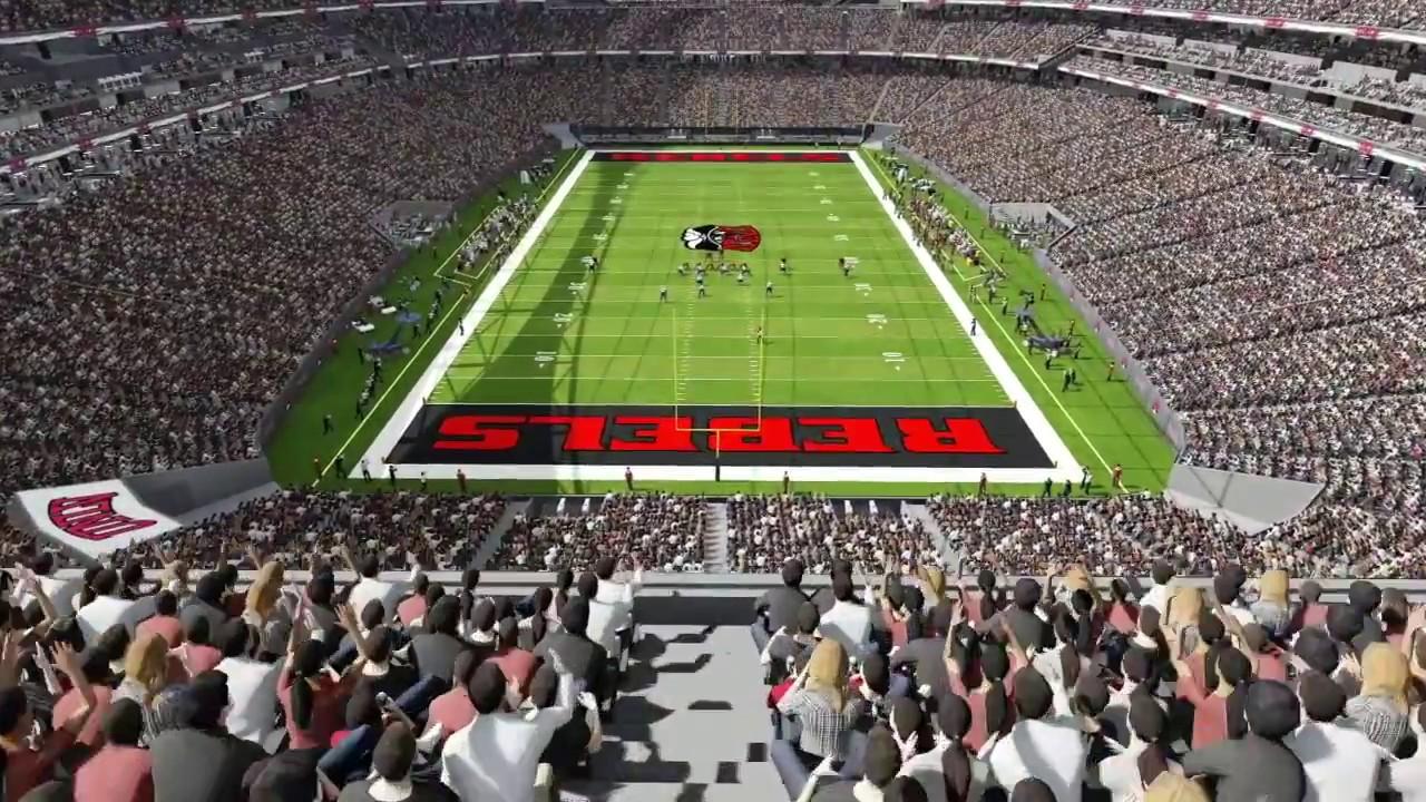 Inside The New Nfl Stadium In Las Vegas Raiders Youtube