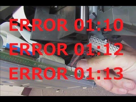 HP Designjet 500, 800 Electronics Module Replacement - Error 01:10