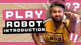 Suiting up with the Nintendo Labo Robot Kit