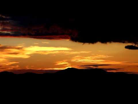 Pôr do Sol em Vista Chinesa/Belvedere, Campos do Jordão - 19/04/2014