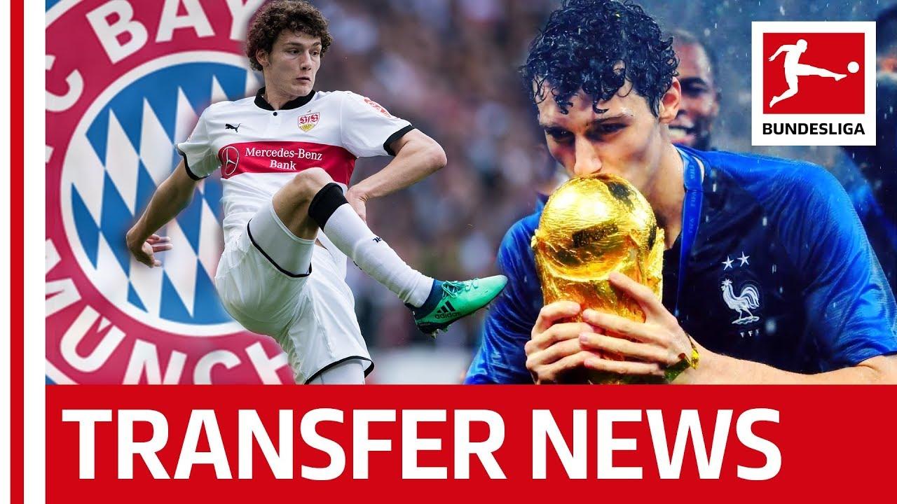 FC Bayern München Sign World Cup Winner Benjamin Pavard