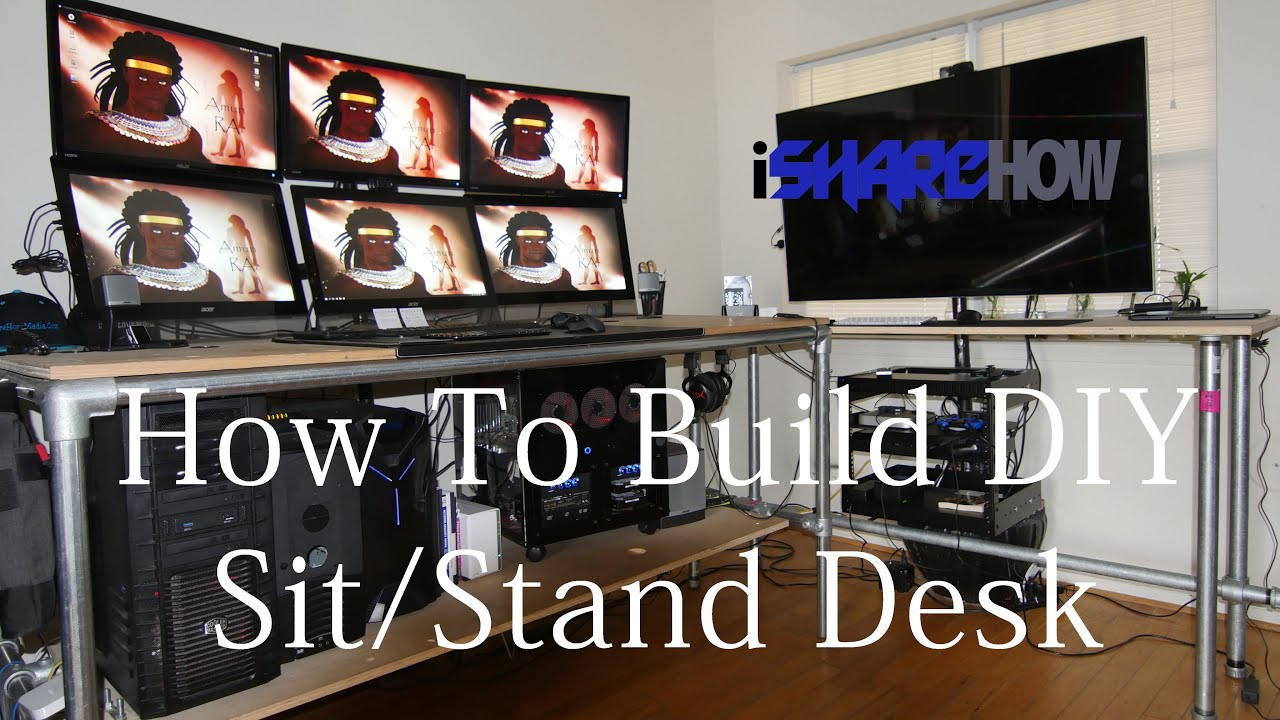 Diy Ishare How To Build Standing Desk