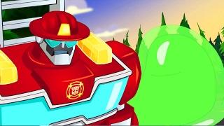 #Мультик Трансформеры #БотыСпасатели. Серия 19. #TransformersRescueBots. Инопланетная угроза