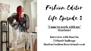 Fashion Editor Life|75 Hard Challenge|HFR Event