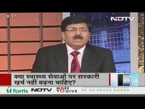 Debate by Dr Ravi Malik in attempt to restore deteriorating doctor patient relation at NDTV India