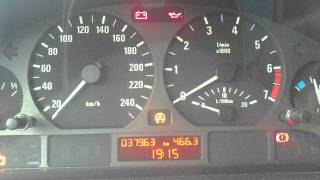 problème de demarrage BMW E46
