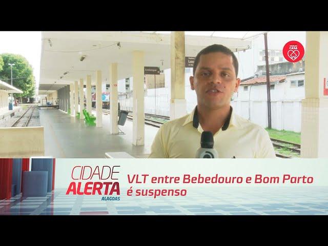 VLT entre Bebedouro e Bom Parto é suspenso