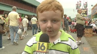 "Meet 5-Year-Old Noah Ritter Who ""Apparently"" Is a Big Hit"