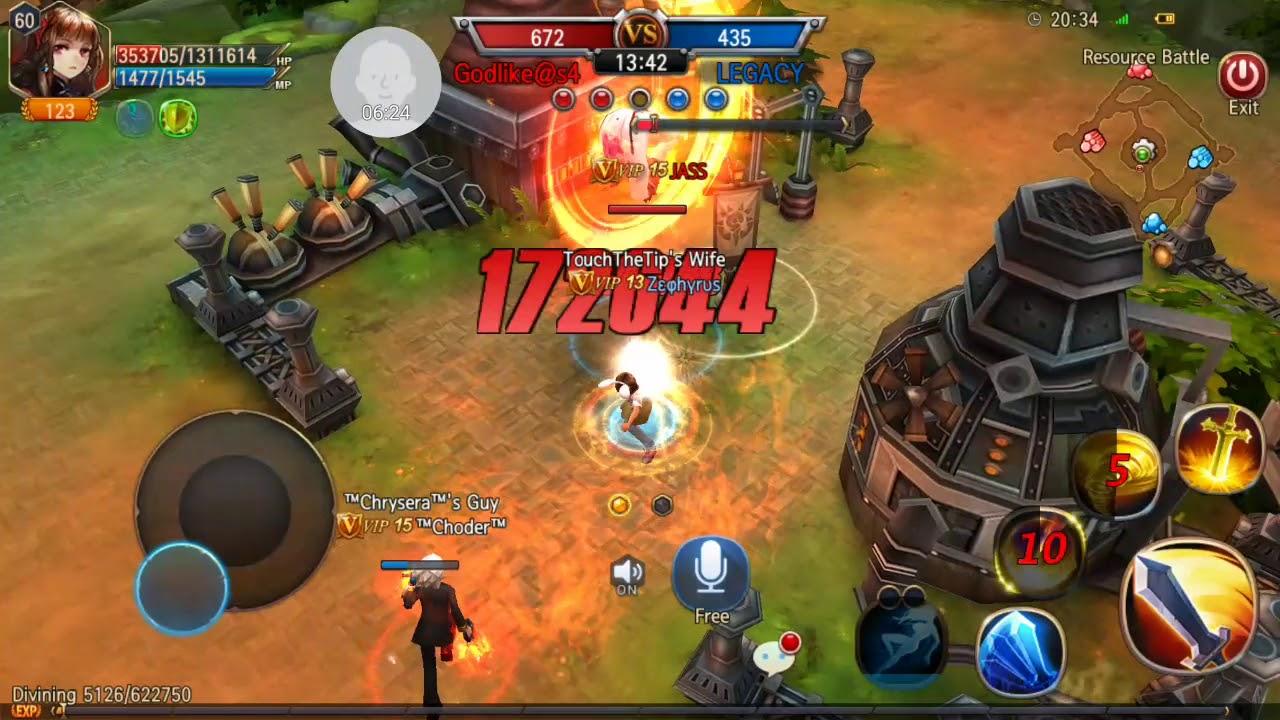 Godlike VS LEGACY 2016-05-04 SM PoV Resource Battle Sword of Chaos
