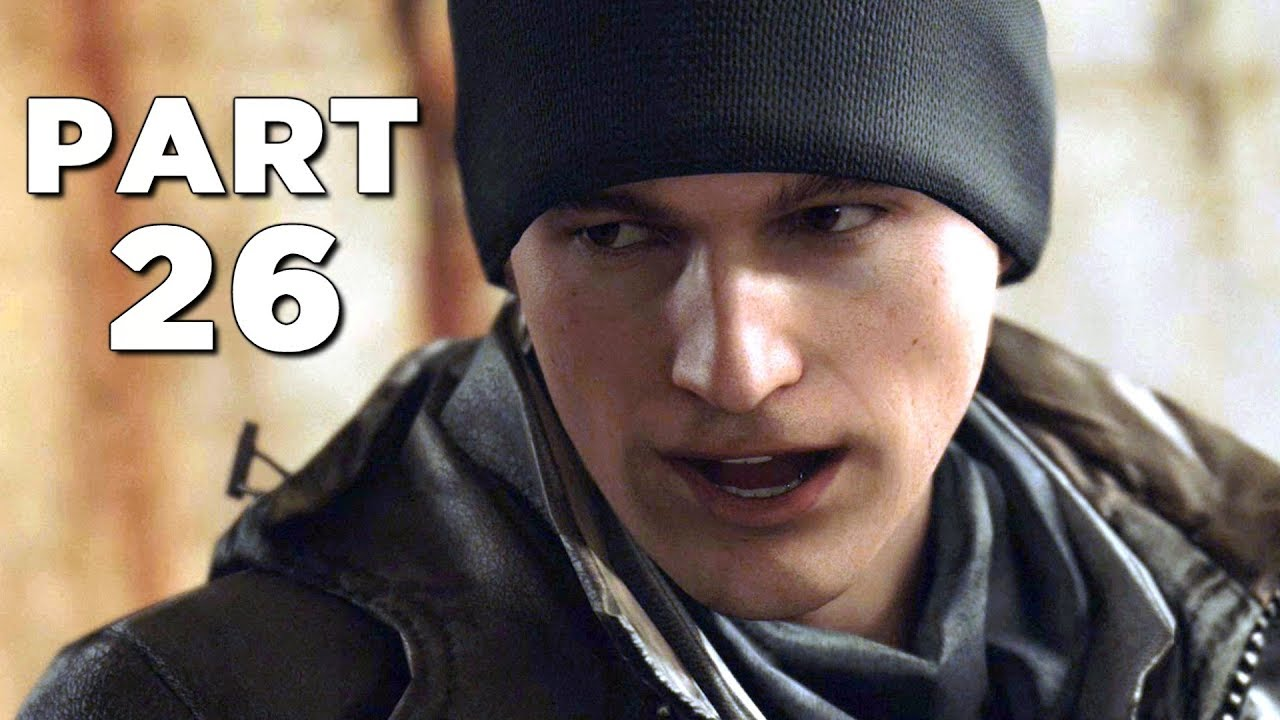 DETROIT BECOME HUMAN Walkthrough Gameplay Part 26 - CROSSROADS (PS4 Pro)