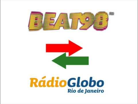 Ouça os últimos momentos da Beat 98 e estréia da Rádio Globo Rio nos 98.1 FM (18/11/2014)