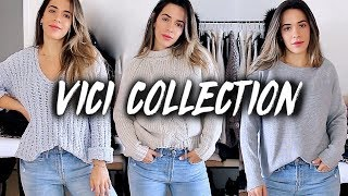 VICI COLLECTION TRY ON HAUL AND SIZING