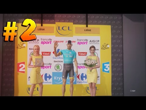 Le Tour De France 2017 | Astana #2 - THE YELLOW JERSEY ( Wal