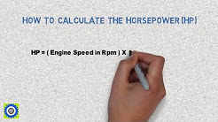 How to Calculate HORSE-POWER (hp) of Car Engine