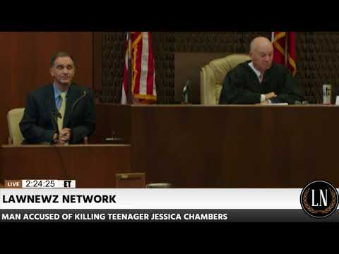 Jessica Chambers Murder Trial Day 5 Part 2 DOJ Analyst Paul Rowlett Testifies 10/14/17