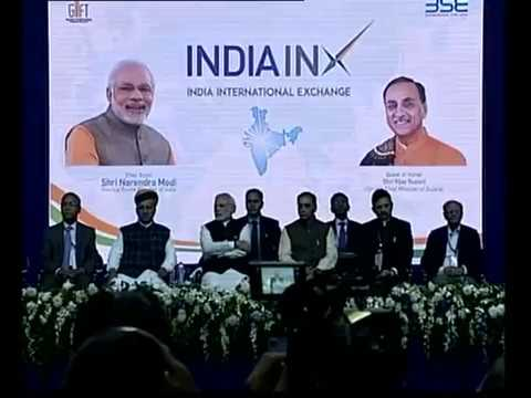 Prime Minister Modi Inaugrates first International Stock Exchange at Gift City, Gandhinagar