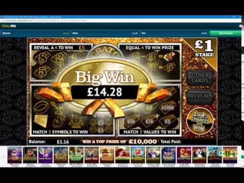 Scratch Card Online William Hill Free £1 Bonus
