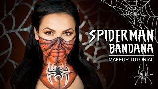 SPIDERMAN BANDANA | Halloween Makeup Tutorial
