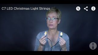 C7 LED Christmas Light Strings
