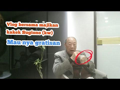Menemani Kakek Sugiono KW || Ngopi Gratis Dari Mesin