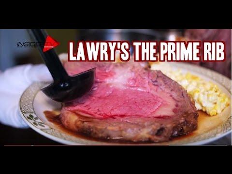 Lawry S The Prime Rib Singapore Youtube