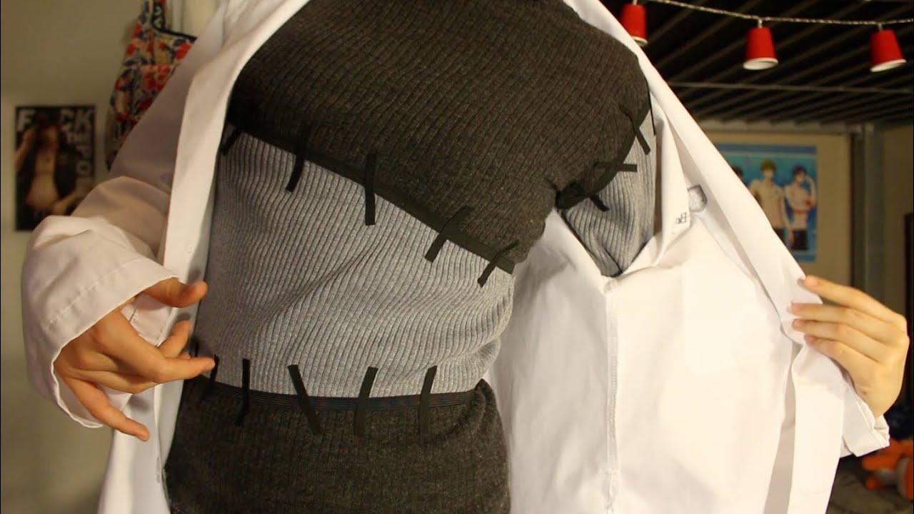 Professor stein sweater tutorial no sewing under 20 youtube jeuxipadfo Gallery