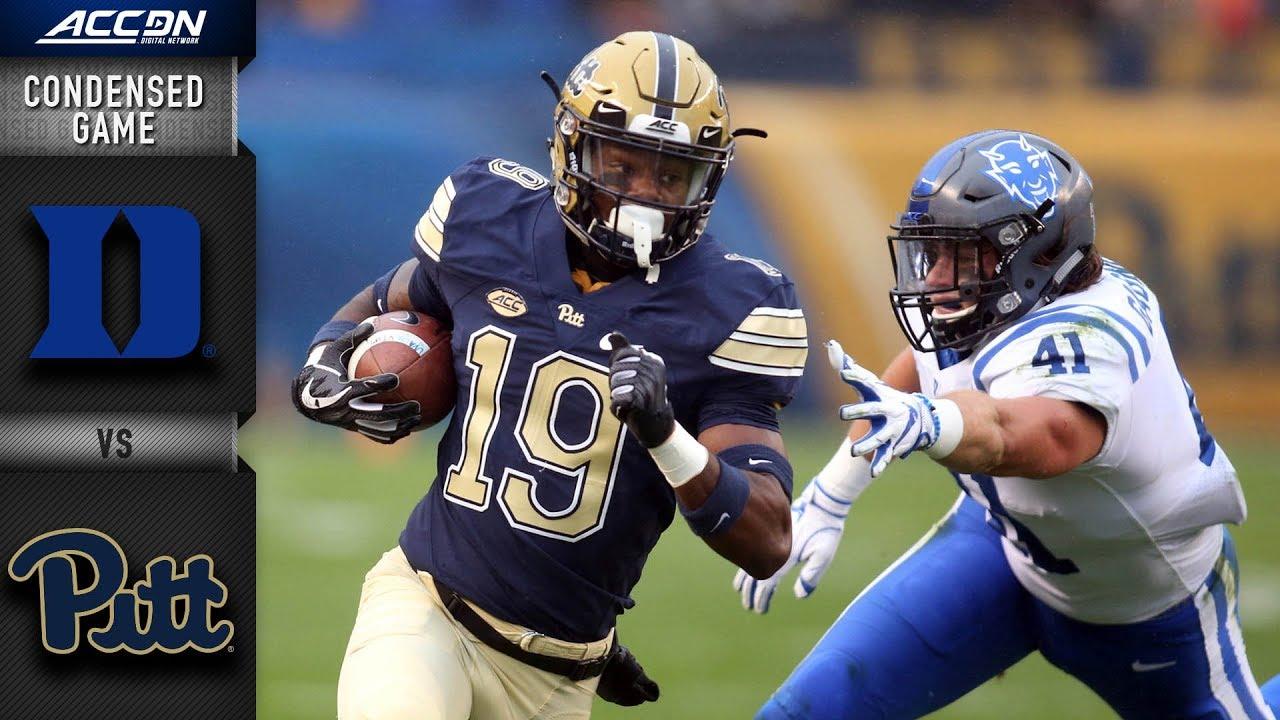 Duke vs. Pittsburgh Condensed Game  b46d8be88